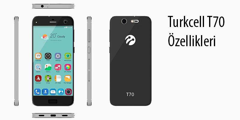 Turkcell T70 Özellikleri