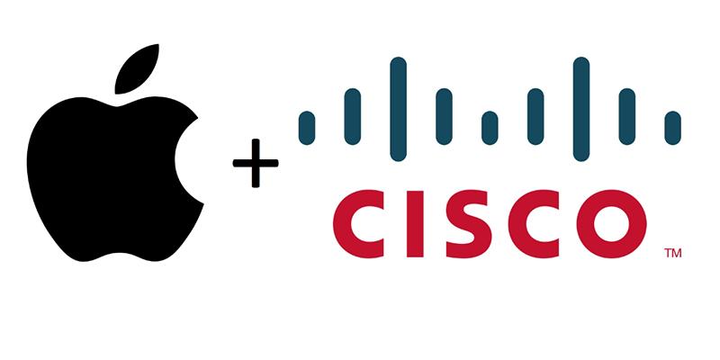 Apple ve Cisco Ortaklığı