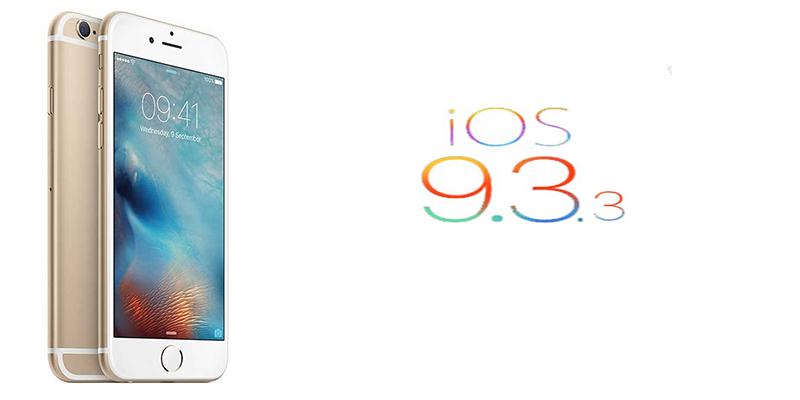 iOS 9.3.3 Güncellemesi Geldi