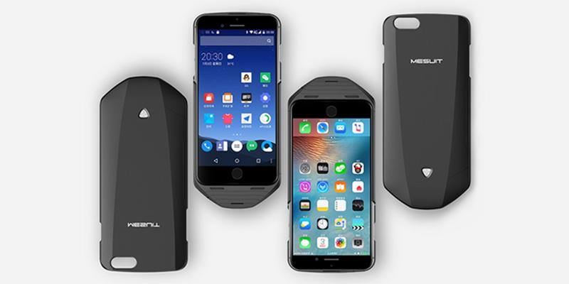 iPhone'u Android'e Çeviren Kılıf: MESUIT