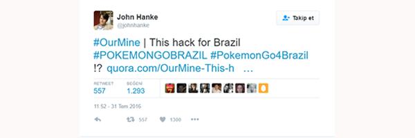 Pokemon Go CEO'su Hack'lendi!