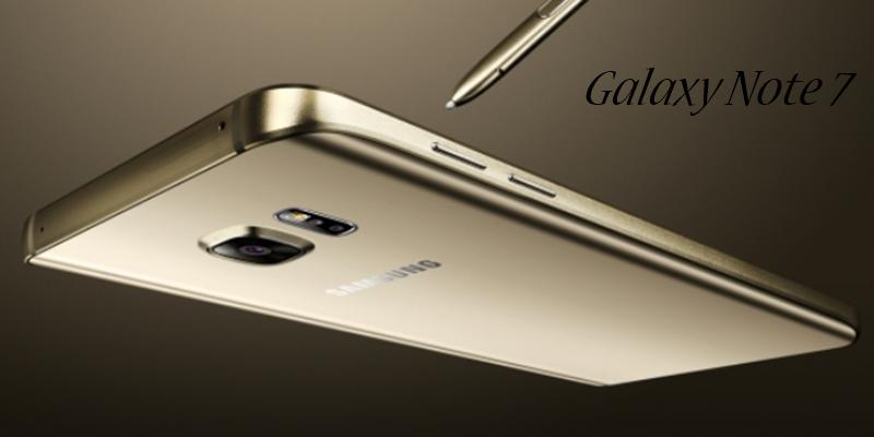 Samsung Galaxy Note 7 Tanıtıldı!