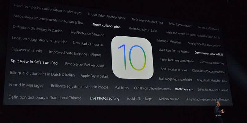 Beklenen iOS 10 Sonunda Yayınlandı!