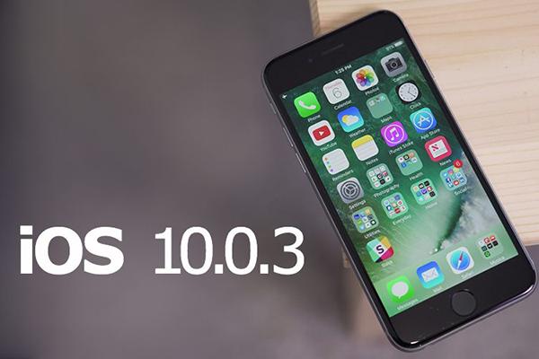iOS 10.0.3 Güncellemesi de Yayınlandı!